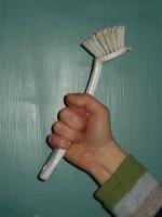 Defiant Scrub Brush