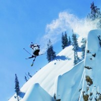 Skier Julian Carr photographed by Will Wissman