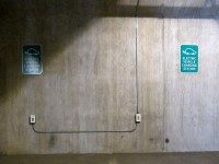 Level 1 Charging Stations at the Santa Fe Railyard Parking Garage
