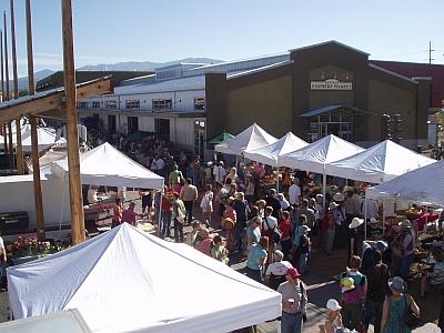 Santa Fe Farmer's Market New Building 2008