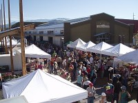 Santa Fe Farmer's Market New Building 2008