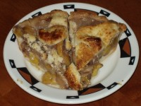 Peach Pie - Homemade