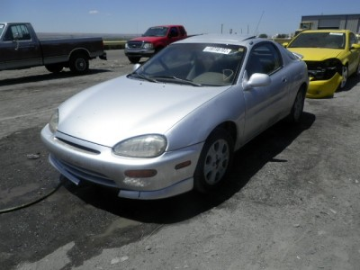 Salvage Car ready for Auction