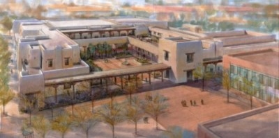 Santa Fe Community Convention Center - architectural rendering