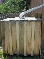 IBC Tote & Pallet Wood Rain Cistern