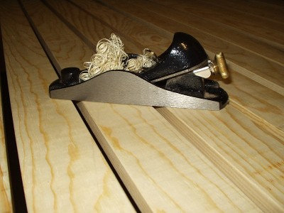 New Mexico Pine Boards and Block Plane