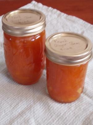 Peach - Ginger Jam