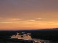 Rio Grande near Albuquerque, NM at Sunrise