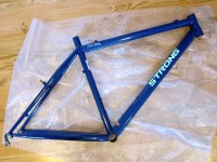 Repaired Strong Mountain Bike Frame