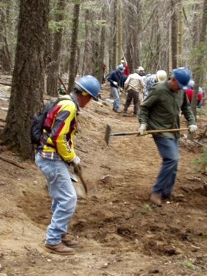 Winsor Trail Work Crew